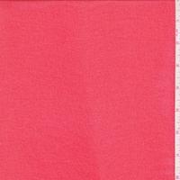 Bright Red Mini Grid Chiffon
