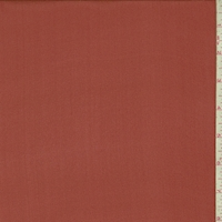 Barn Red Silk Crepe Georgette