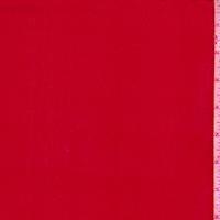 Burnt Red Silk Chiffon
