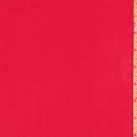 Rouge Red Silk Chiffon