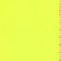 Neon Yellow Georgette Silk Chiffon
