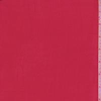Berry Red Silk Chiffon
