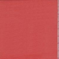 Bright Red Silk Crinkle Chiffon