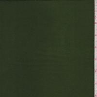Dark Fern Green Silk Satin Charmeuse