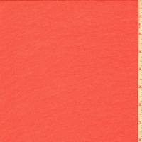 Sunset Orange Silk Georgette Chiffon
