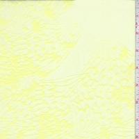 Lemonade Botanical Print Silk/Cotton Chiffon