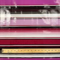 Purple Multi Stripe Oilcloth