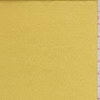 *1 YD PC--Golden Yellow Hammered Silk Satin