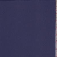Dark Regal Blue Crepe Georgette