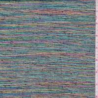 *4 1/4 YD PC--Metallic Rainbow Suiting