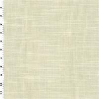 *6 YD PC--Cream Beige Slub Woven Performance Home Decorating Fabric