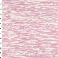 *2 3/8 YD PC--Pink Stripe Texture Print Sateen Home Decorating Fabric