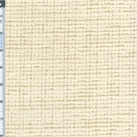 *1 YD PC--Natural Ivory/White Cotton Home Decorating Fabric