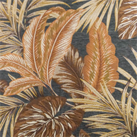 *1 1/2 YD PC--Beige/Gray Napali Tropic Chenille Jacquard Home Decorating Fabric