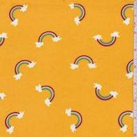 Marigold Rainbow Double Brushed Jersey Knit