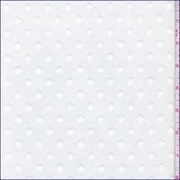 *2 1/4 YD PC--White Dot Tulle