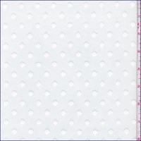 *3 5/8 YD PC--White Dot Tulle