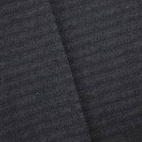 *1 YD PC--Black Poly/Wool Boucle Texture Woven Jacketing