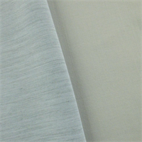 *1 YD PC--Ice Blue Double Weave Suiting