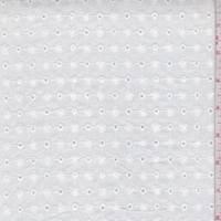 *1 7/8 YD PC--White Mini Floral Eyelet