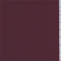 *8 3/8 YD PC--Dark Rust Crinkled Crepe de Chine