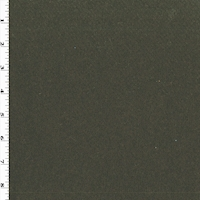 *3 YD PC--Swamp Deep Green Wool Blend Multi Woven Napped Jacketing