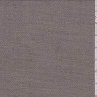 *3 3/8 YD PC--Taupe Wool Blend Suiting