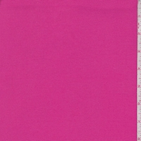 *3 3/8 YD PC--Hot Pink Cotton Twill