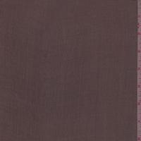 Brown Crinkled Silk Chiffon