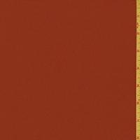 Rustic Red Silk Crepe Georgette