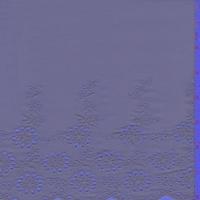 Slate Blue Scallop Cotton Eyelet