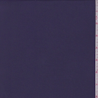 Plumberry Purple Stretch Crepe de Chine