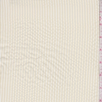 White/Sand Stripe Lining