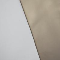Dusty Gold Metallic Bonded Vinyl Home Decorating Fabric