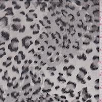 Stone/Black Leopard Georgette