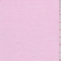 Baby Pink Oval Pique Shirting