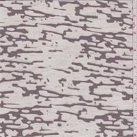*1 3/4 YD PC--Cocoa Brown Camo Burnout T-Shirt Knit