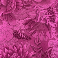 """*3 YD PC--Berry Floral """"Boundless"""" Cotton"""