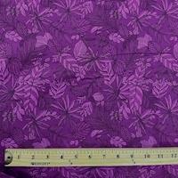 """*3 YD PC--Purple Rainforest """"Boundless"""" Cotton"""