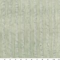 * 7 YD PC--Dusty Green Satin Stripe Crinkled Chiffon Drapery Fabric