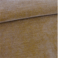 *2 1/2 YD PC--Hazelnut Beige Slub Velveteen Home Decorating Fabric