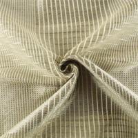 * 1 YD PC--Gray/Ivory Plaid Sheer Drapery Fabric