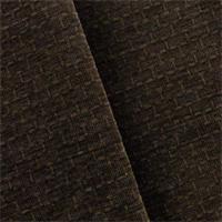 * 1 3/8 YD PC--Espresso Brown De Leo Victorino Chenille Home Decorating Fabric