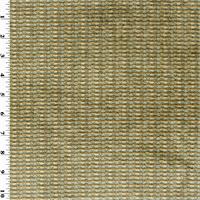 * 1 3/8 YD PC--Blue Smoke/Brown Dazzle Stripe Chenille Home Decorating Fabric