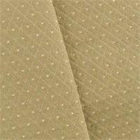 * 3 YD PC--Beige Diamond Dot Home Decorating Fabric