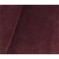 * 1 1/2 YD PC--P Kaufmann Plum Red Ripple Velvet Decorating Fabric