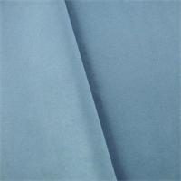 *1 7/8 YD PC--Dusty Sky Blue Moleskin Home Decorating Fabric