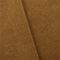 *2 1/8 YD PC--Cider Brown Linen-Look Woven Home Decorating Fabric