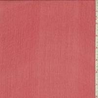 Pomegranate Crinkled Silk Chiffon