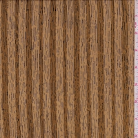 Ochre Woodgrain Satin Stripe Silk Chiffon